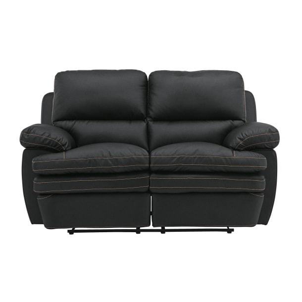 2 er sofa alice schwarz sofas polsterm bel wohnen m bel boss. Black Bedroom Furniture Sets. Home Design Ideas