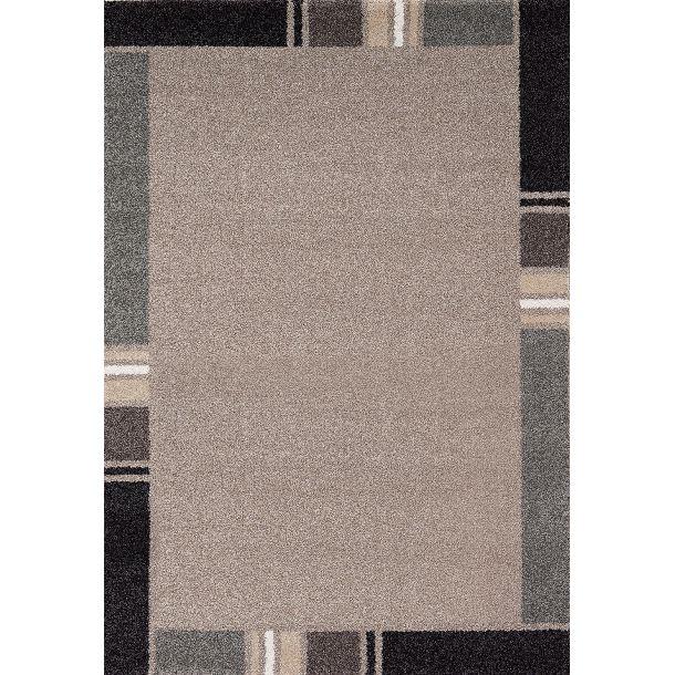 Friseeteppich Casa Beige-Braun-Grau 120 x 170