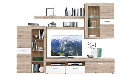 wohnen m bel. Black Bedroom Furniture Sets. Home Design Ideas