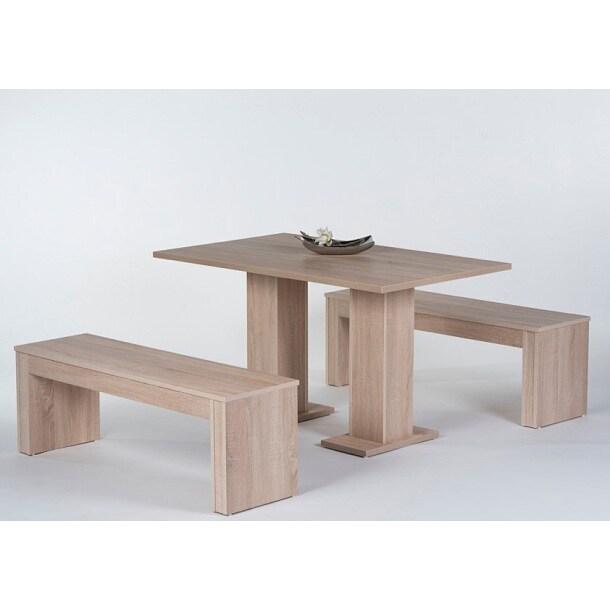 Tischgruppe eiche s gerau essgruppen esszimmer - Boss eiche ...