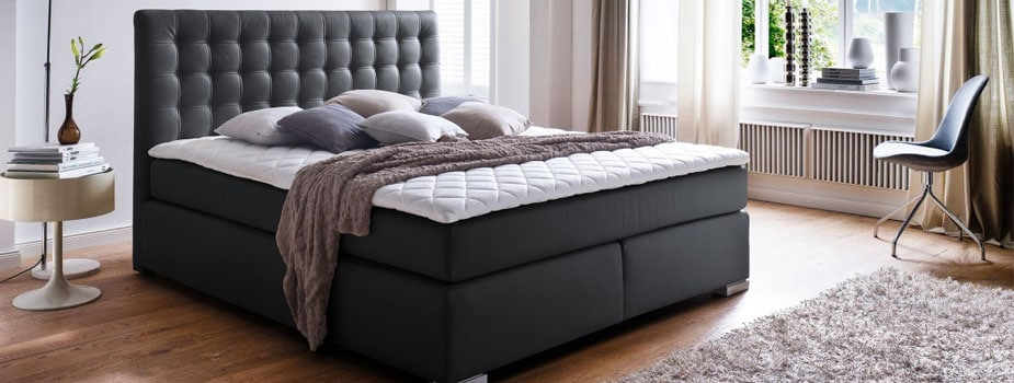 boxspringbetten g nstig online kaufen m bel boss. Black Bedroom Furniture Sets. Home Design Ideas