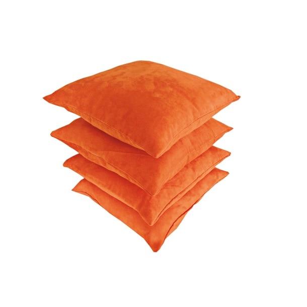 Dekokissen Cadiz Polyester Orange ca. 40 x 40 cm