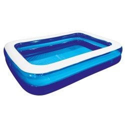 Familien Pool Transparent/Blau