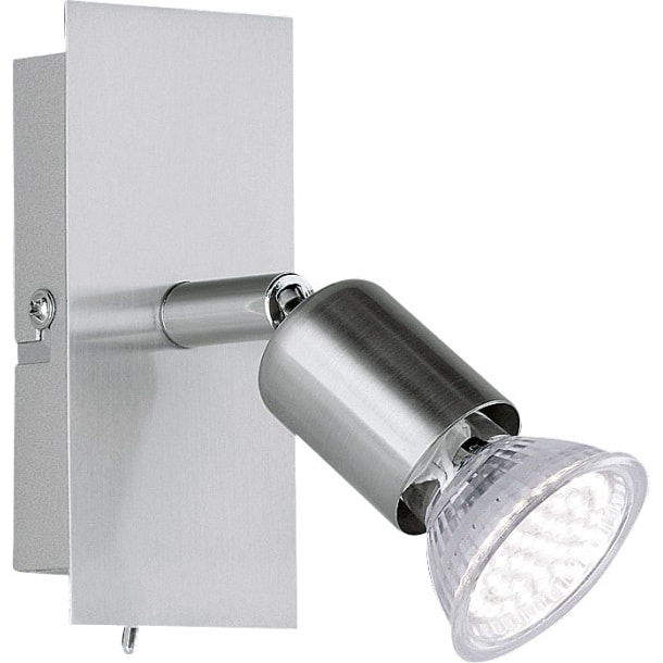 LED-Spot Nimes Nickel matt 1-flammig Bild 1