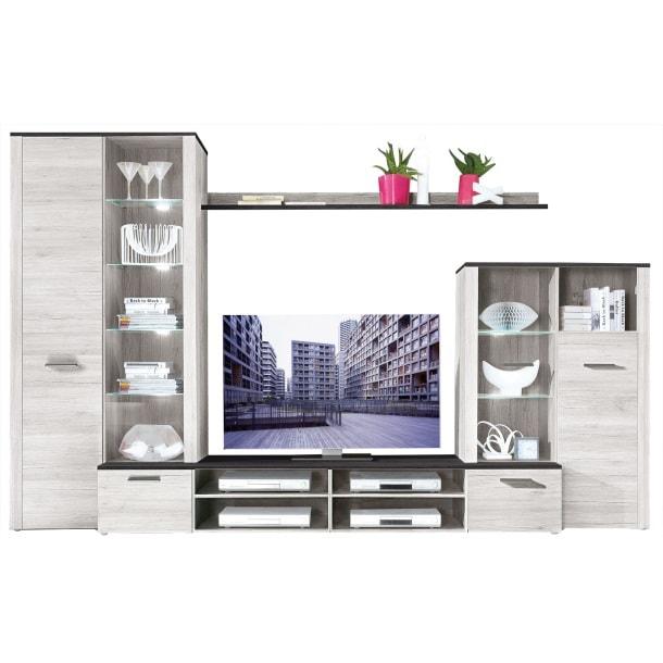 wohnwand dakar sibiu l rche touchwood wohnw nde wohnen m bel boss. Black Bedroom Furniture Sets. Home Design Ideas