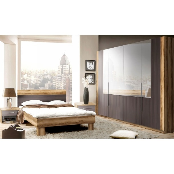 kleiderschrank nussbaum kleiderschr nke schlafen m bel boss. Black Bedroom Furniture Sets. Home Design Ideas