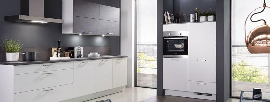 Küchenzeilen mit E-Geräten günstig online kaufen | Möbel Boss