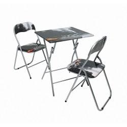 1 Tisch - 4 Stühle
