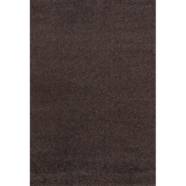 Hochflor Teppich Shaggy Plus Braun 80 x 150 cm