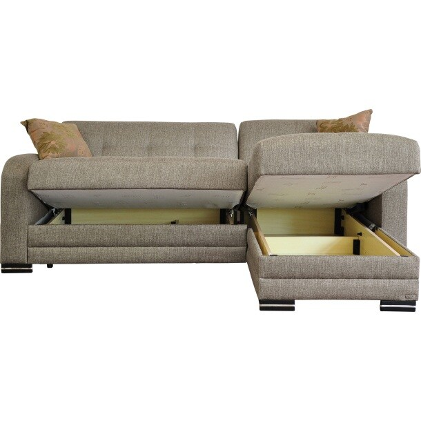 polsterecke braun m bel boss moebel. Black Bedroom Furniture Sets. Home Design Ideas