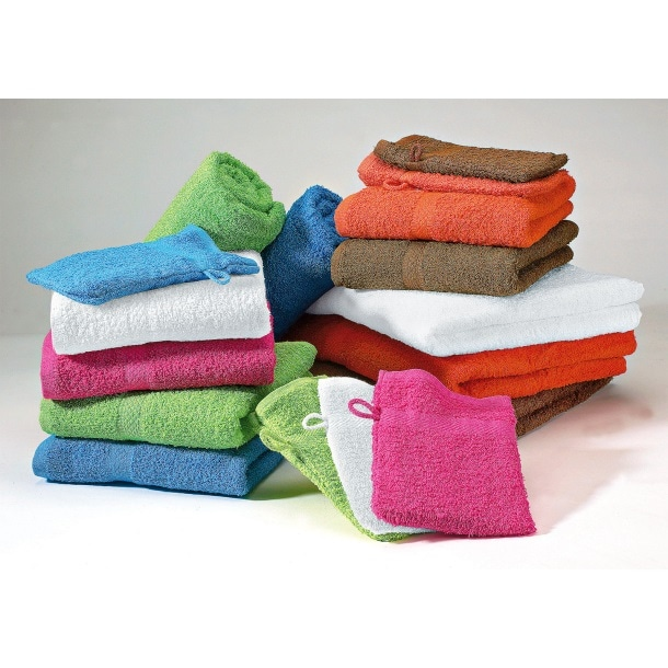 Frottier Waschhandschuh Lisa Baumwolle verschiedene Farben