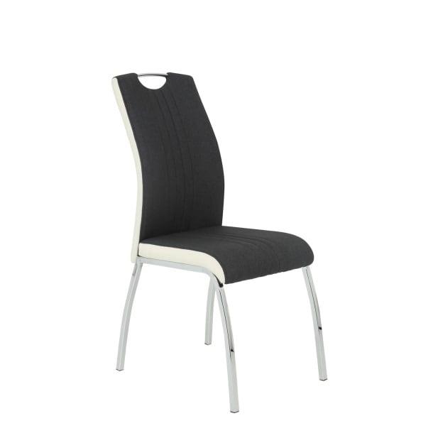 Stuhl Neo Webstoff Anthrazit | Möbel Boss