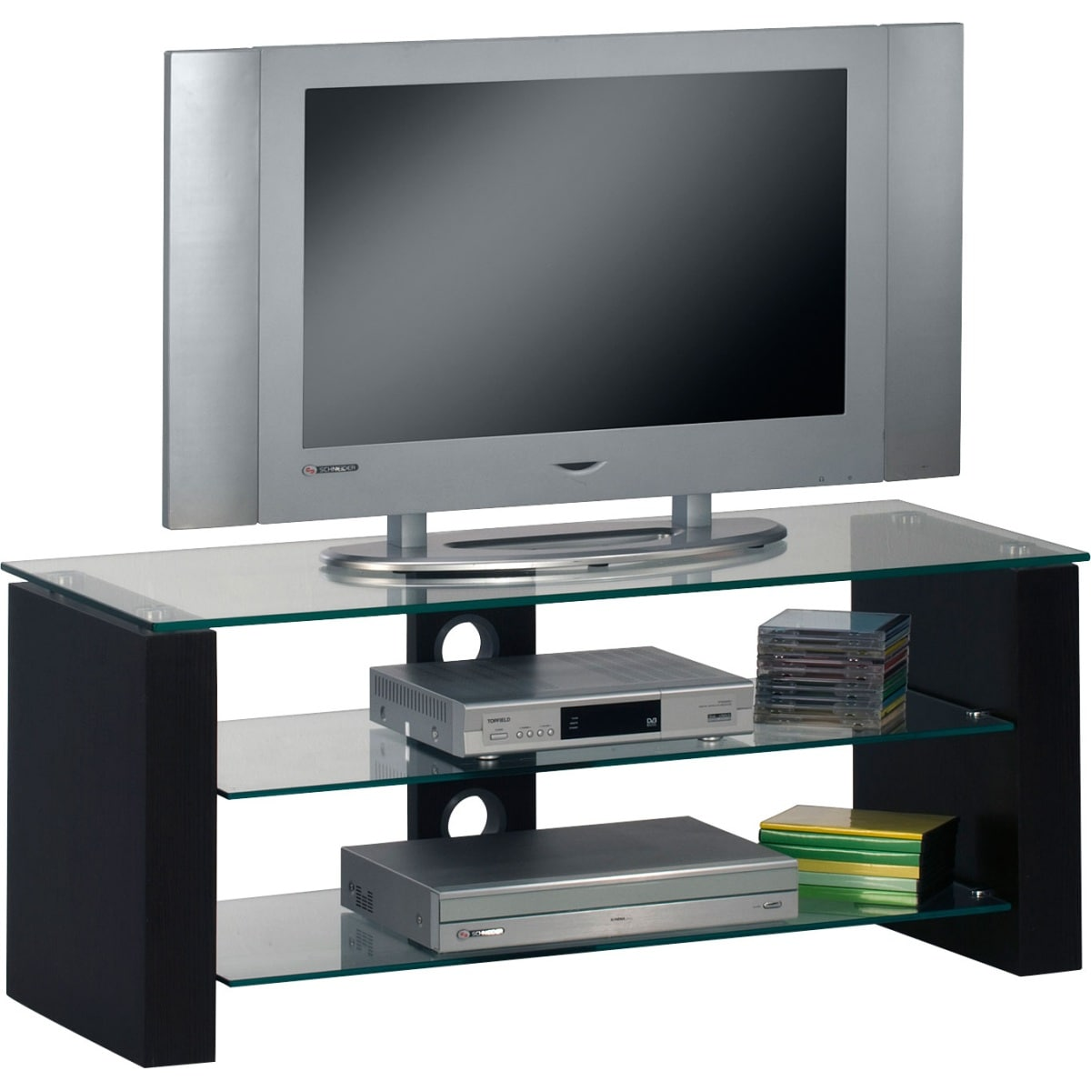 tv bank schwarz tv mediam bel wohnen m bel boss. Black Bedroom Furniture Sets. Home Design Ideas