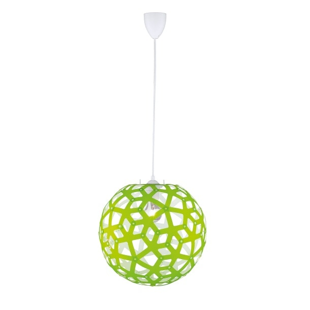 pendelleuchte gr n wei pendellampen lampen. Black Bedroom Furniture Sets. Home Design Ideas