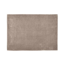 Badematte Chenille Polyester Taupe