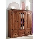 Highboard Cancun Pinie kolonial massiv ca. 132 x 140 x 44 cm