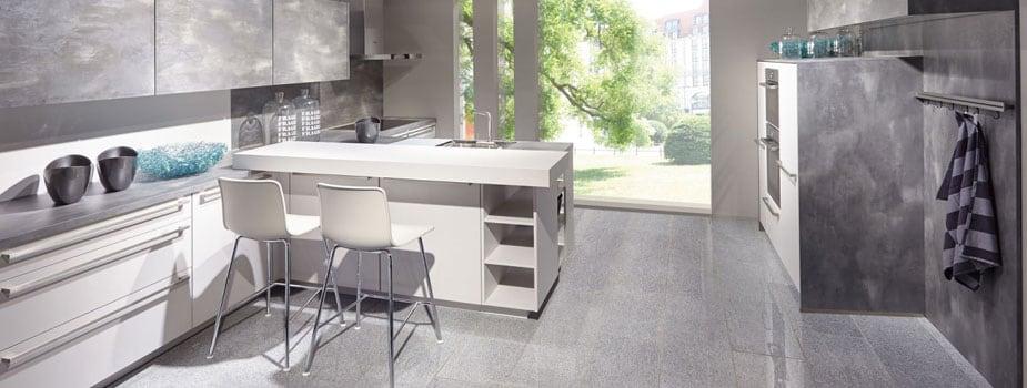 Winkelküche ohne E-Geräte