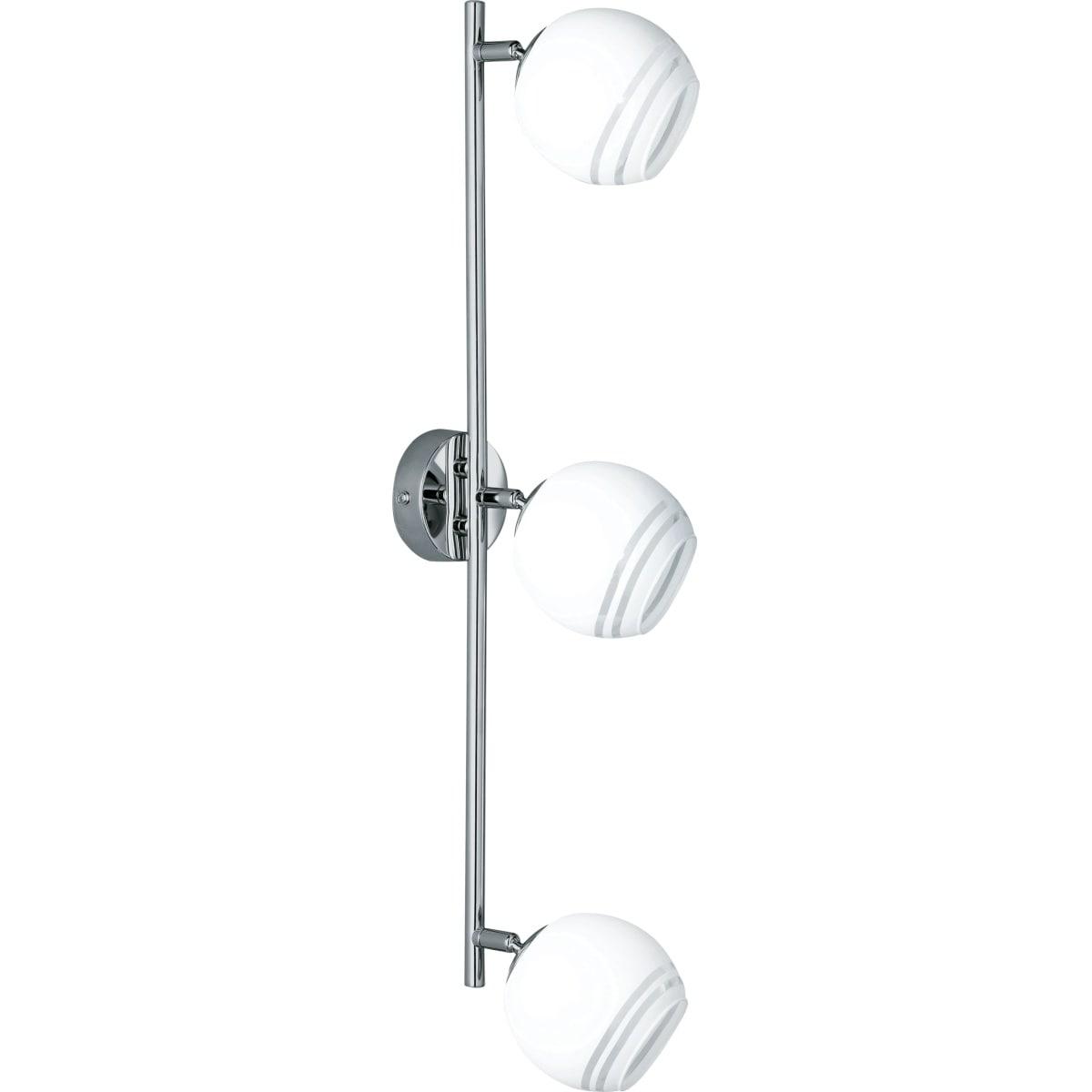 3er spot wei deckenlampen lampen dekoration m bel boss. Black Bedroom Furniture Sets. Home Design Ideas