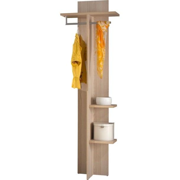Garderobenpaneel Esche ca. 60 x 198 x 32 cm