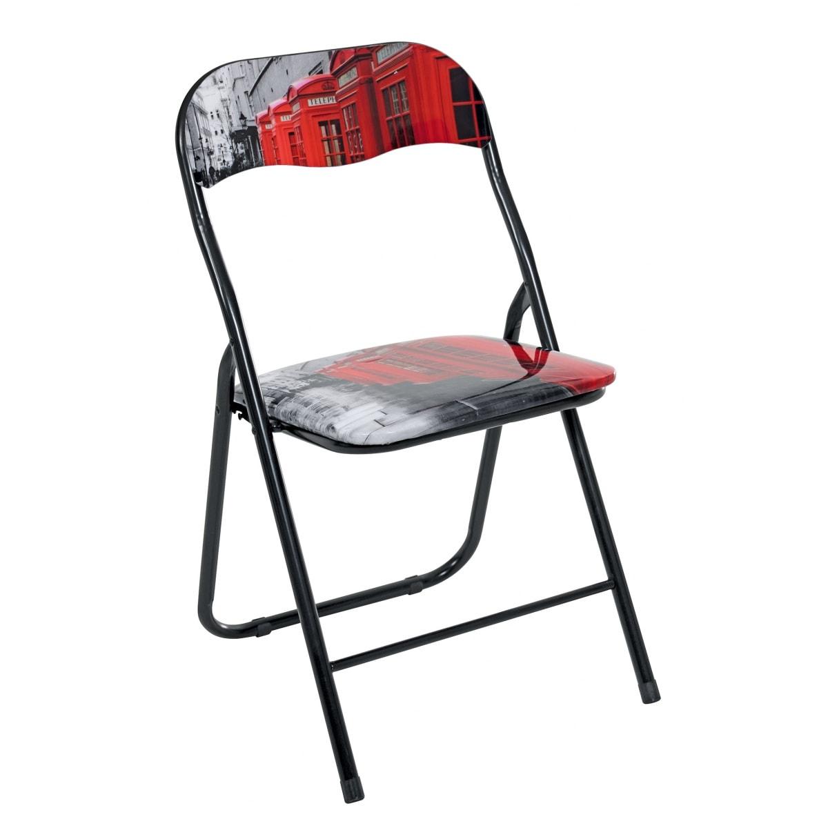 klappstuhl mit motiv st hle esszimmer wohnen m bel boss. Black Bedroom Furniture Sets. Home Design Ideas