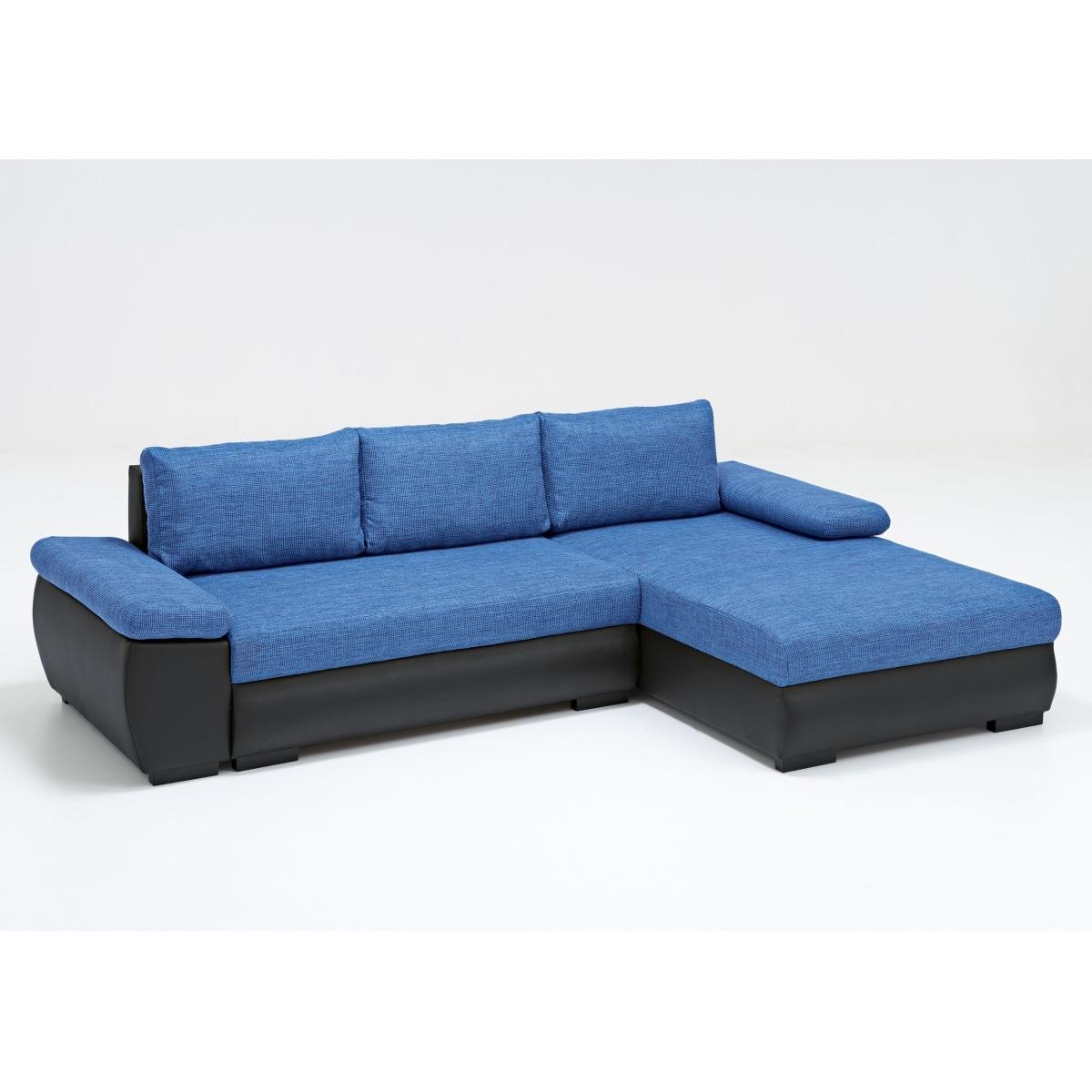 polsterecke schwarz blau polsterm bel wohnen m bel. Black Bedroom Furniture Sets. Home Design Ideas
