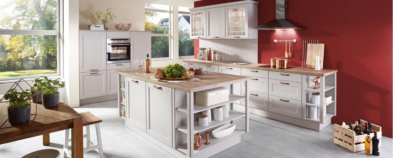 Moderne landhausküchen bei sb möbel boss