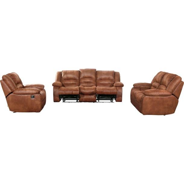 polstergarnitur dunkelbraun polstergarnitur polsterm bel wohnen m bel boss. Black Bedroom Furniture Sets. Home Design Ideas