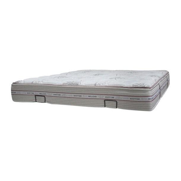 Federkernmatratze Hygiene Polyester Weiß ca. 140 x 200 cm H2