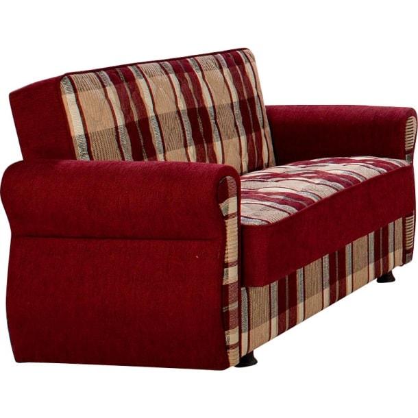 polstergarnitur rot gemustert m bel boss null. Black Bedroom Furniture Sets. Home Design Ideas